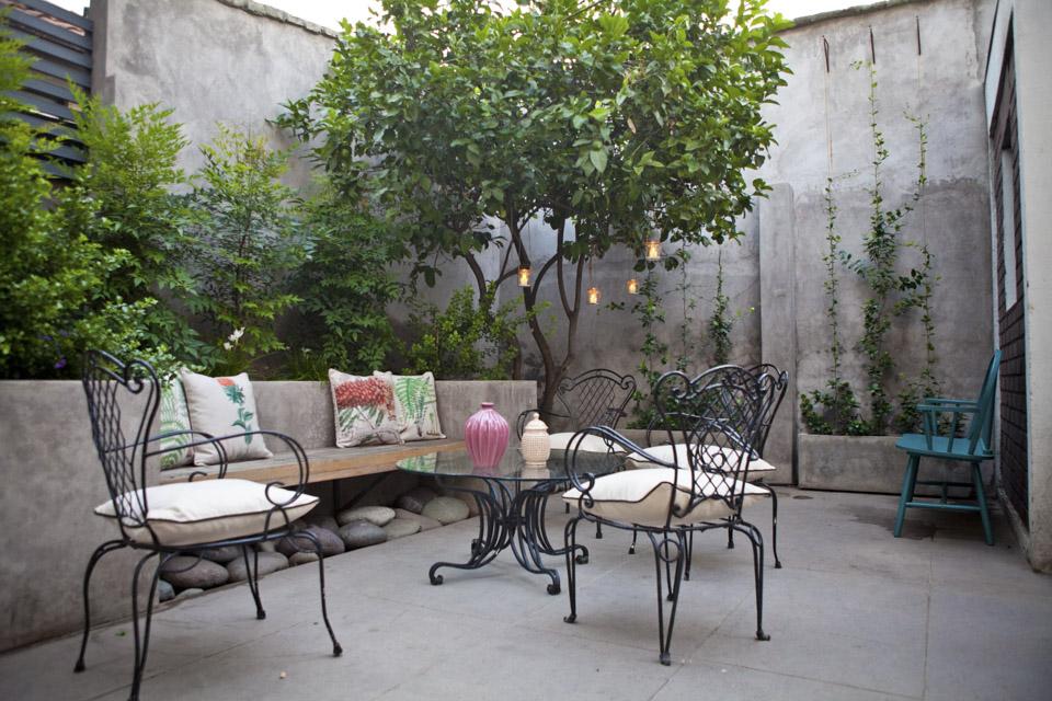 Jardineras de obra para jardin ilex en arbolito topiario for Jardineria las rozas